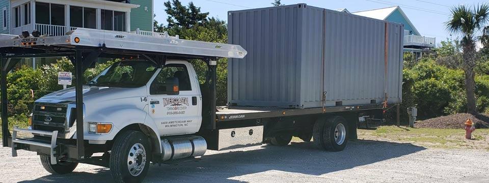 We move storage containers in Leland North Carolina Geocode: @34.2153851,-78.0160862