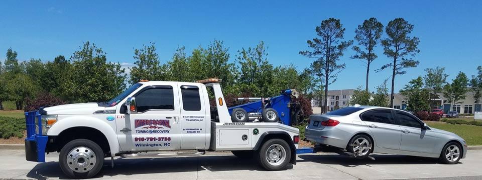 Towing service in Leland, NC Geocode: @34.2153851,-78.0160862